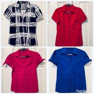 4 dress shirts = 1 price